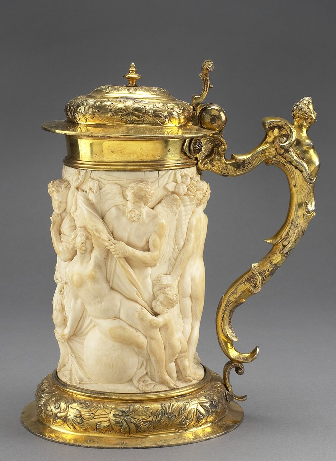 Tankard: Allegories of Time Unveiling Truth, Abundance, Flattery and Heresy