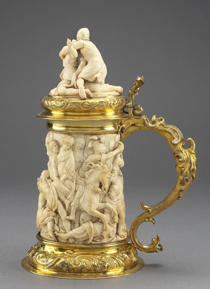 Tankard: The Abduction of the Sabine Women