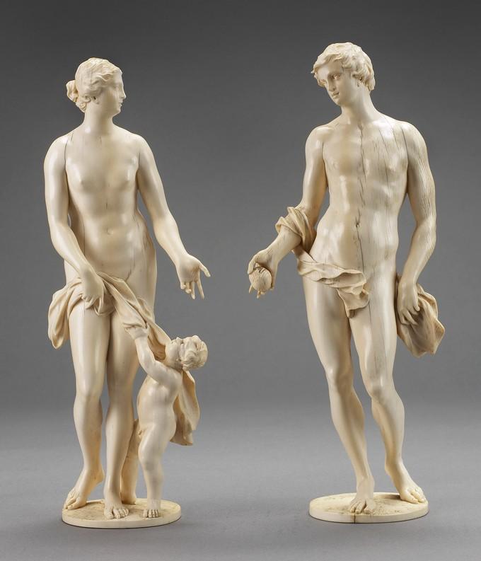 Venus with Cupid and Paris (The Judgement of Paris)