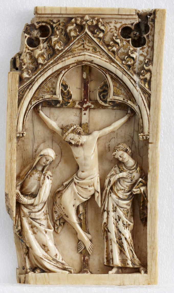 Wing from a Diptych: The Crucifixion